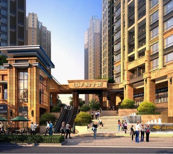 企业新干线53万平米综合体筑就中轴地标远洋建筑设计城市v企业模式图片