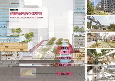"""车公庙""""未来之城""""规划曝光 打造全球24小时概念城区"""