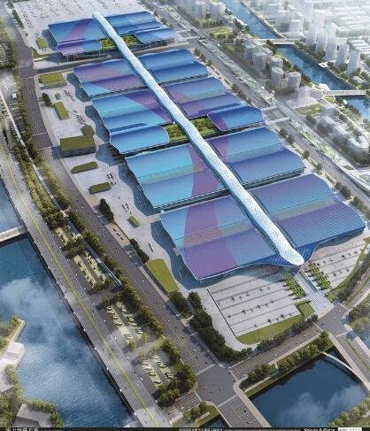 新地标!深圳国际会展中心全球最大 计划明年6月竣工