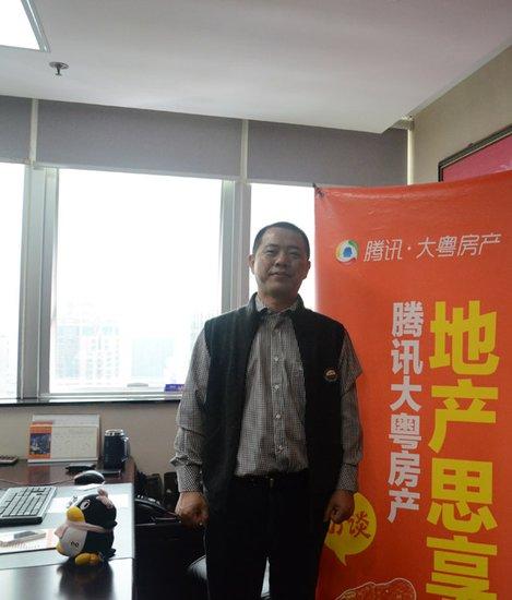佳兆业深圳公司董事长喻维选:品质路线刚需产品