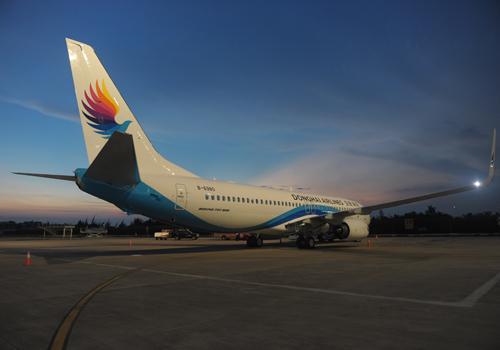 东海航空喜迎第15架飞机 打造深圳总部型航空