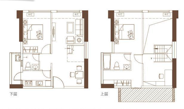 花半里·欣悦广场加推4房loft户型 均价17500/平