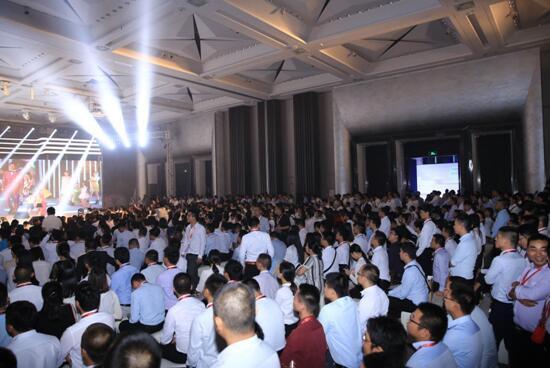 中洲·天睿335-670㎡新品发布 千名精英人士共同见证