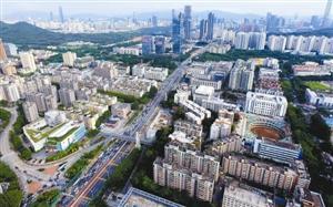 梅林-彩田片区纳入全市重点区域 重点区域增至16个