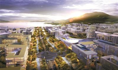 深圳国际生物谷坝光核心区开发 规划31.9平方公里