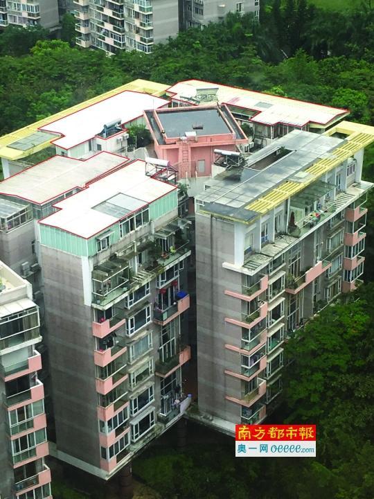 黄埔雅苑几乎每户都有违建 违建市场价超670万元