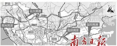 深圳4条高速公路取消收费后 5个新收费站或明年建成