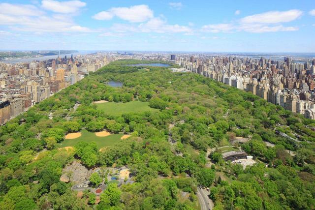 纽约中央公园,全球cld人居榜样,贵重资产扎堆图片