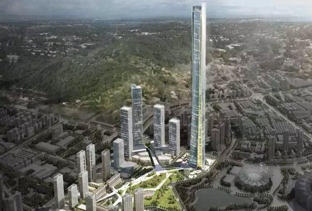 龙岗要建668米摩天大楼 有望成为深圳新地标