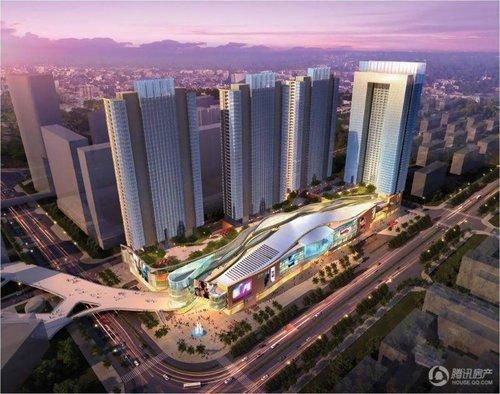 万科广场120-150平精装公寓 预计6月开样板间