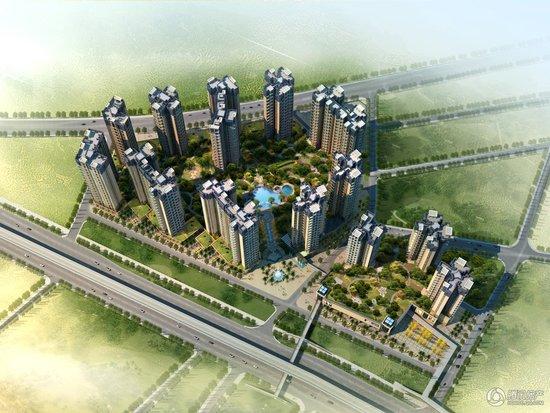 信义御城豪园预计年底上市 主推60-140平2-4房