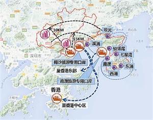 深圳东部交通蓝图曝光 新改建10条战略通道14条地铁
