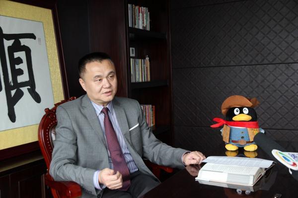 周栋接受腾讯大粤房产采访