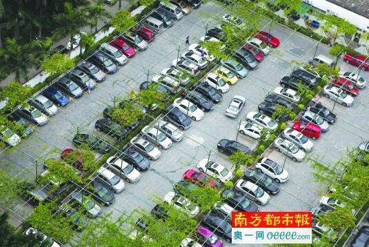 深圳居住停车缺口176.5万 力争3年内增40万停车位