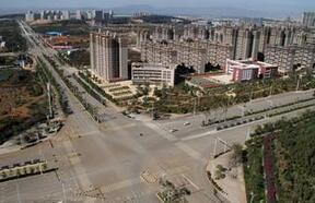 """英媒称""""鬼城""""非中国独有:各国建新城都缺人气"""
