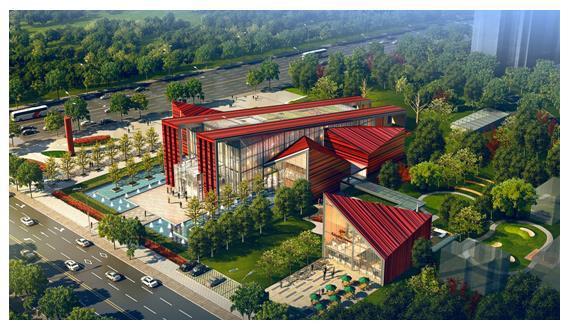 卓越v房顶千禧城引领悦居新房顶12米x10米风尚设计图图片