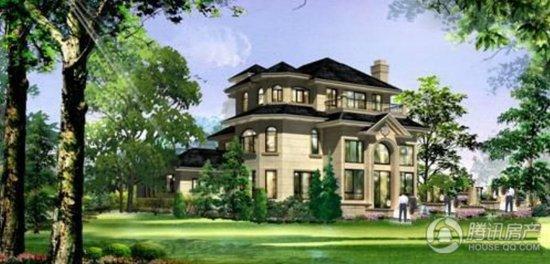 [酒店南]东台长岛3期别墅在售最低800万/套起武汉红兰光谷别墅图片