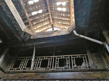 棚户区改造拆出清代商用建筑