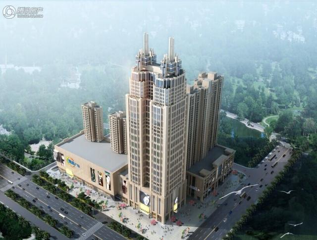 中国铁建1818中心在售目前建面100-200平