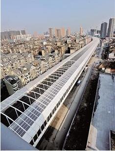 武汉最长空中隧道明日通车 多花1亿全程建隔音棚