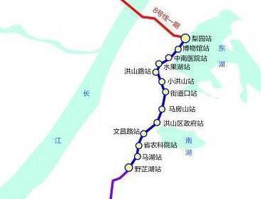 武汉地铁8号线最新进度:地铁盾构向江心挺进