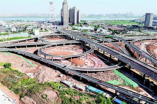 武汉杨泗港快速通道四新段工程竣工 将投入使用