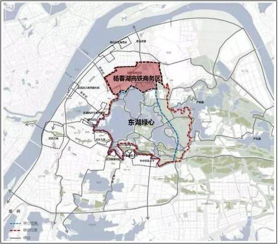 依托高铁经济 杨春湖城市副核心打造绿色生态圈