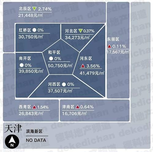 18座热门城市房价地图(12月版)德科地产频道