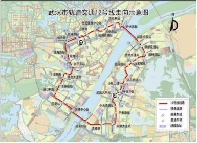 串联武汉地铁网,带动沿线房价起伏图片