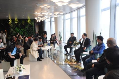 绿地中心总裁行政办公私享会共论长江主轴经济发展