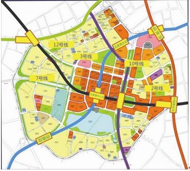 地铁7号线动工 轨道交通加速武汉经济发展图片