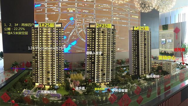 楼盘帮帮看:三栋楼、两个户型的舒适品质精装三房——【东湖高新·康桥知园】