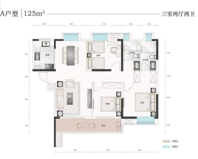 楼盘帮帮看:三栋楼、两个户型的舒适品质精装三房——【光谷南·康桥知园】