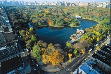 美国景观设计学奠基人——弗雷德里克劳奥姆斯特德设计的纽约中央公园图片