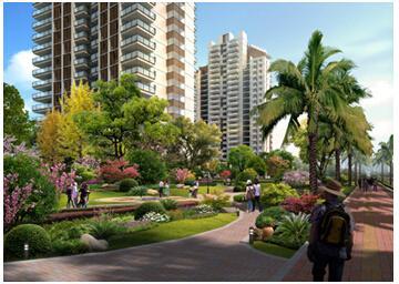 城心罕见生态铁路中建福地星城为你构建生西铜园林城际设计图图片