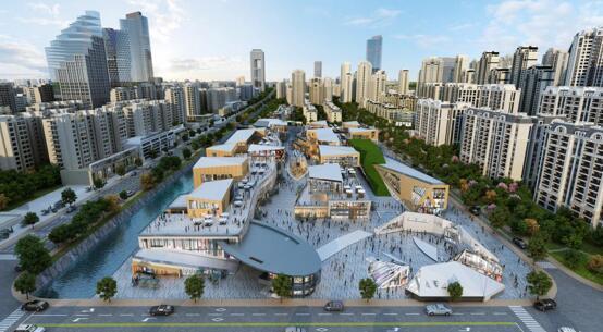 保利香颂水街招商即将启幕,未来将开创武汉商业新奇迹