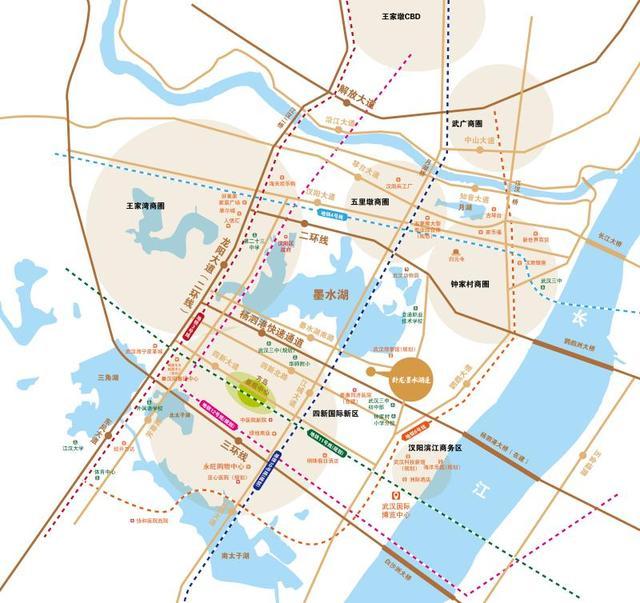 卧龙墨水湖边:汉阳四新最宝贵的资源是居住环境