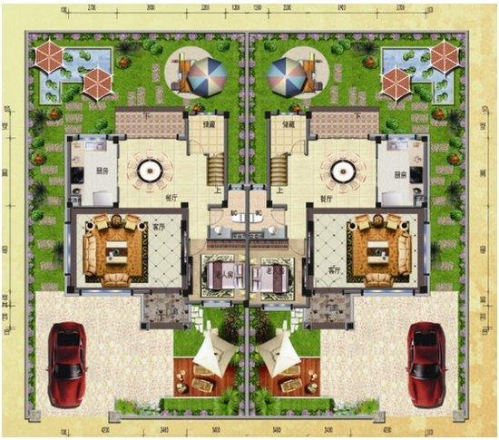 碧桂园房平面图