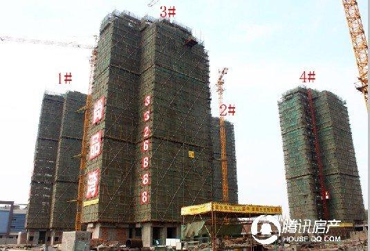 恒亿尚品湾:6栋高层全面封顶 2期月底加推