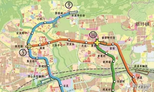 厦门地铁6条线路最新站点、规划及运营时间