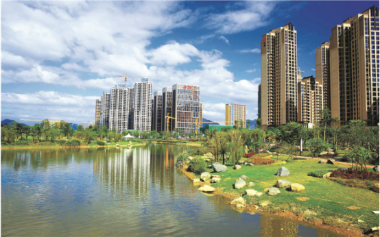 龙泉丽景:绿色生态人居 给您一个优美宜居的生活环境