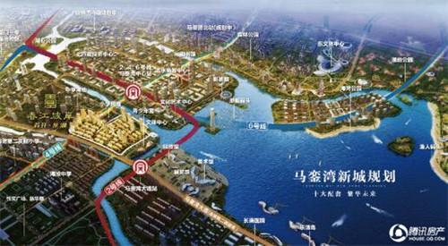 樟树新城区的规划图