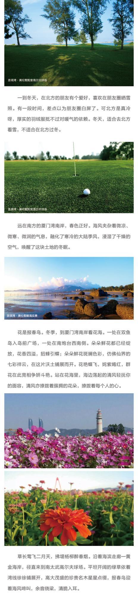 【澎湖湾·美伦墅】冬天,澎湖湾春色正好