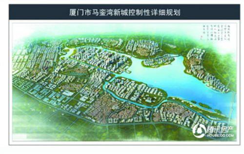 马銮湾新城总体规划鸟瞰图-春江彼岸 2016年马銮湾新城建设进度大曝光