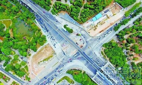 道路转盘平面图手绘
