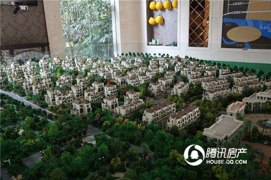 龙泉御墅:268万起别墅现房在售 项目实景赏析