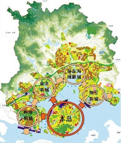 贺州厦岛片区规划图片