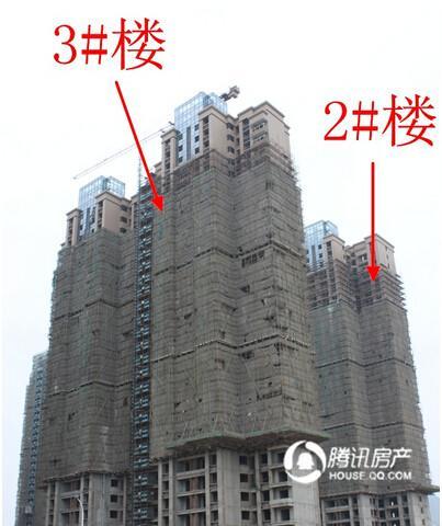 中央公园城:项目全部已封顶 总体去化8层