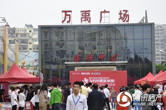 万禹国际广场:母亲节·义诊月公益活动启幕