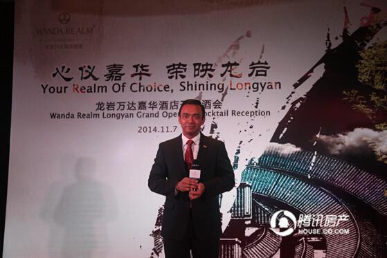 龙岩万达嘉华酒店2014年11月7日盛大开业